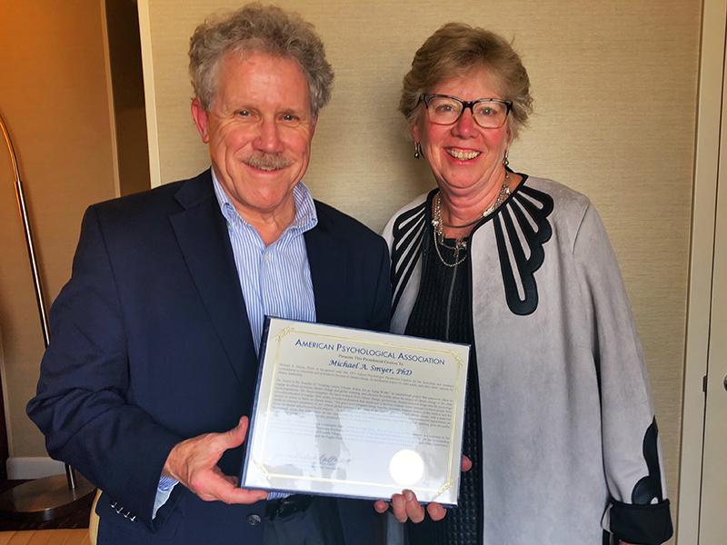 Smyer APA Award