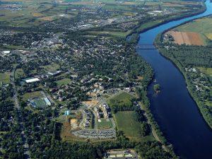 Susquehanna River Bucknell aerial