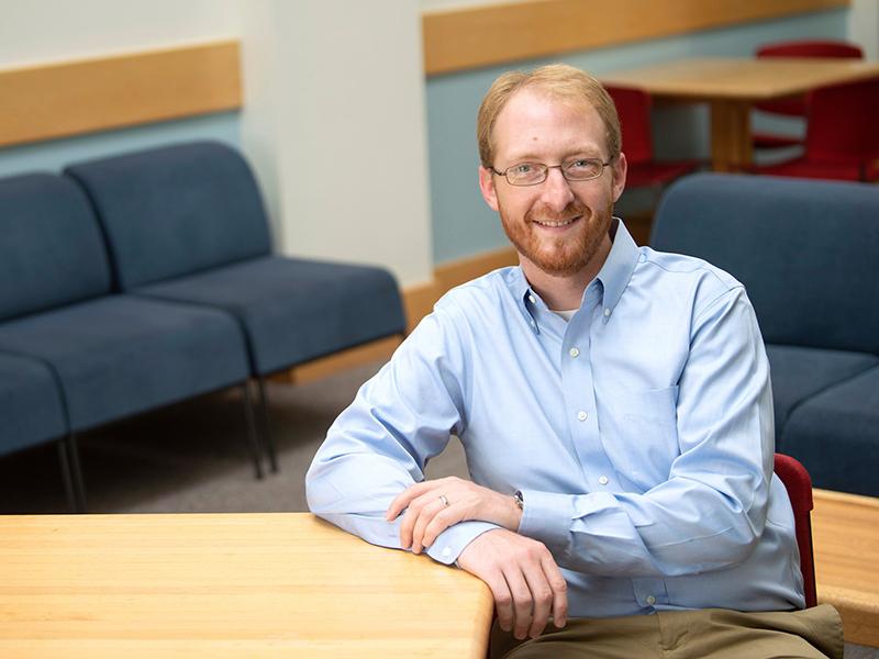 Bucknell University chemistry professor Doug Collins