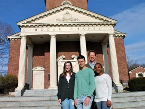 Rooke Chapel leadership team